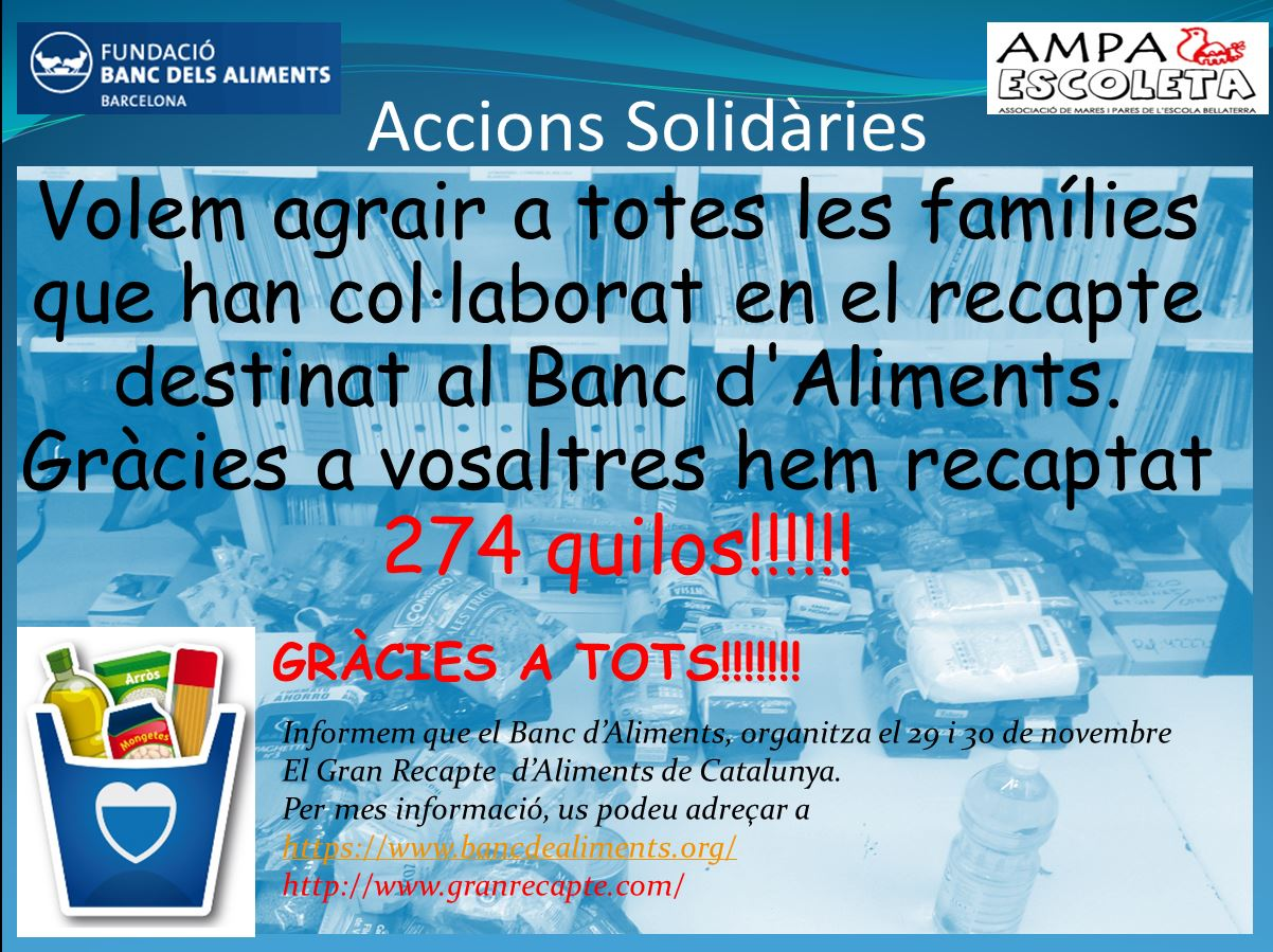 solidariesRecapte2013Gracies
