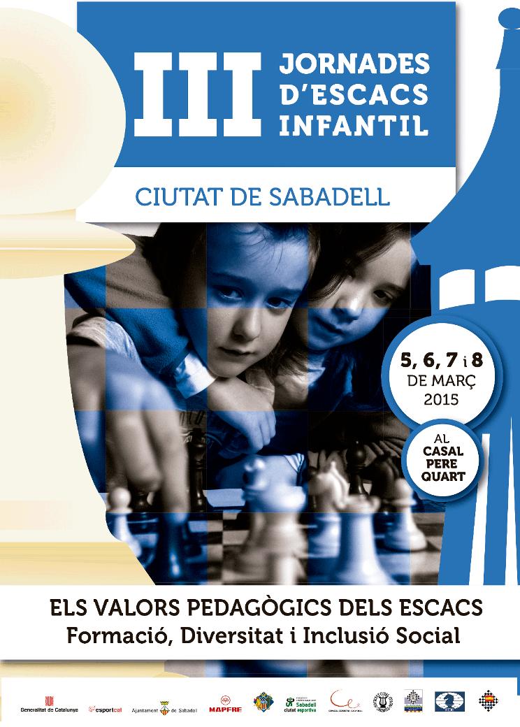 III JORNADES D'ESCACS INFANTILS 2015