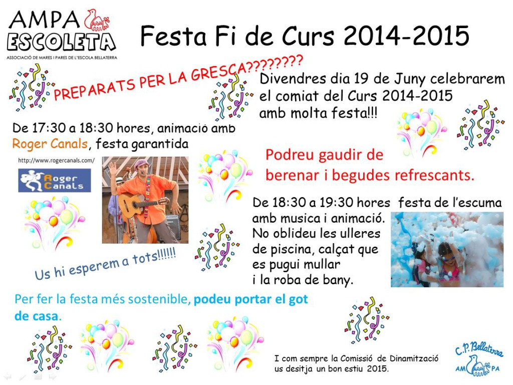 Festa Fi de Curs 2015
