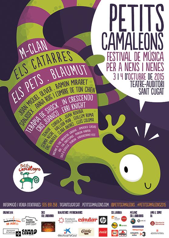 Cartell Petits Camaleons 2015