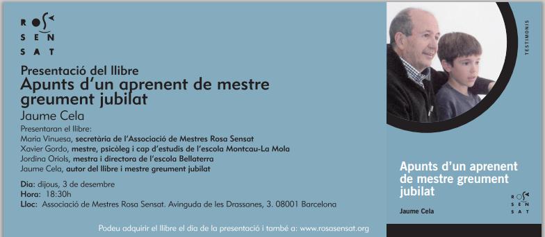 Presentació Llibre Jaume Cela
