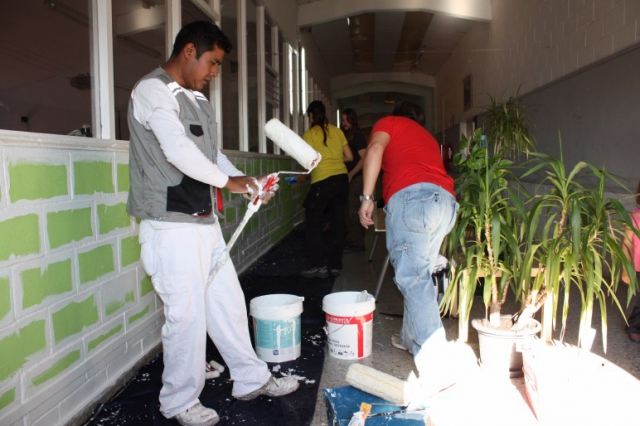 Pintant parets